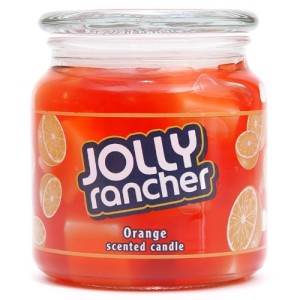 Hanna's Candle Company 00102199 Jolly Rancher Orange Gel Jar Candle, 14.75-Ounce